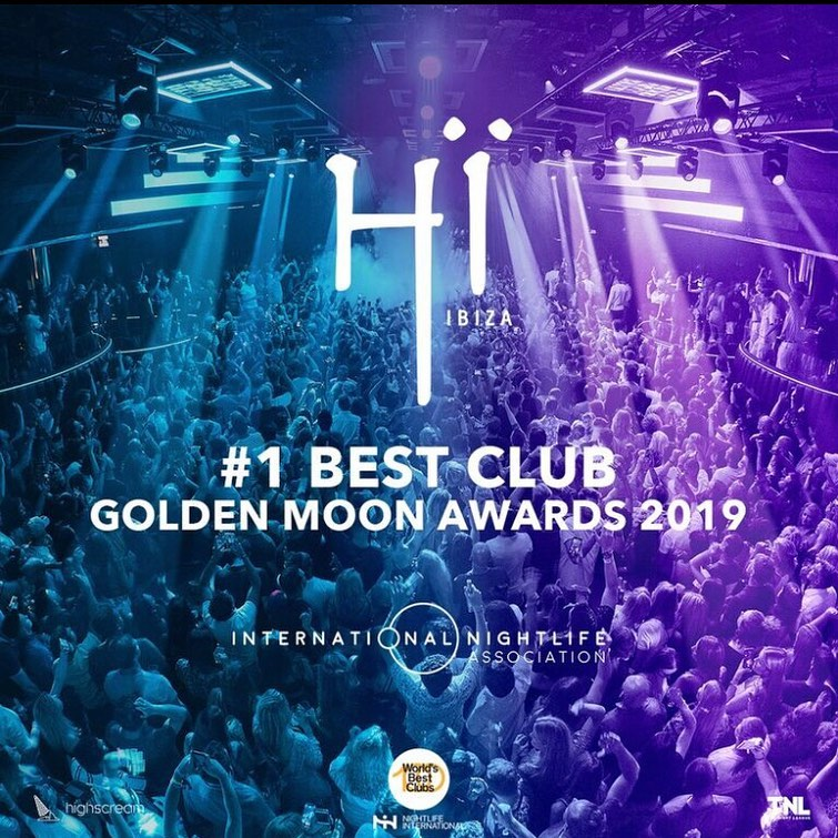 Hï Ibiza awarded as best Club of the world 2019!