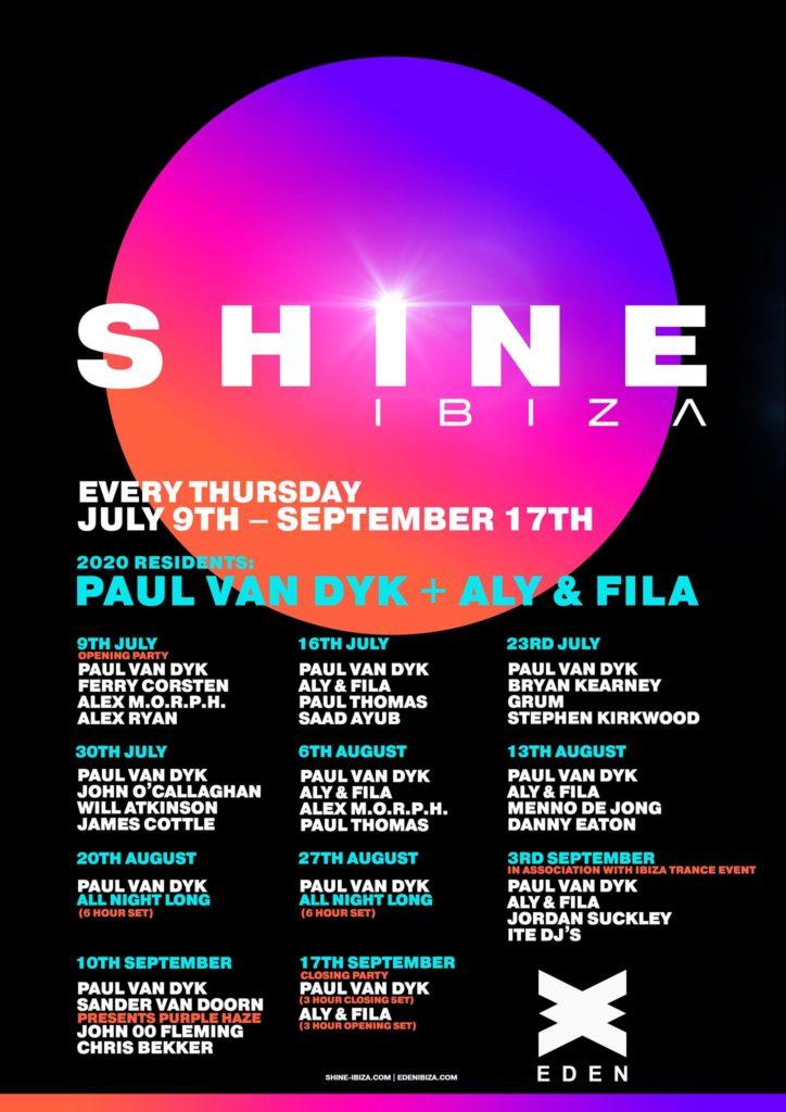 Shine Ibiza 2020